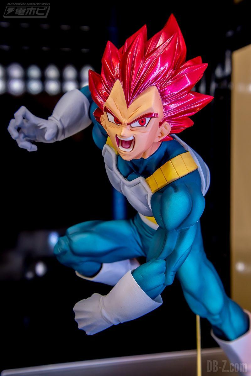 Figurine Dragon Ball Super BLOOD OF SAIYANS SPECIAL VII Vegeta Super Saiyan God Janvier 2020
