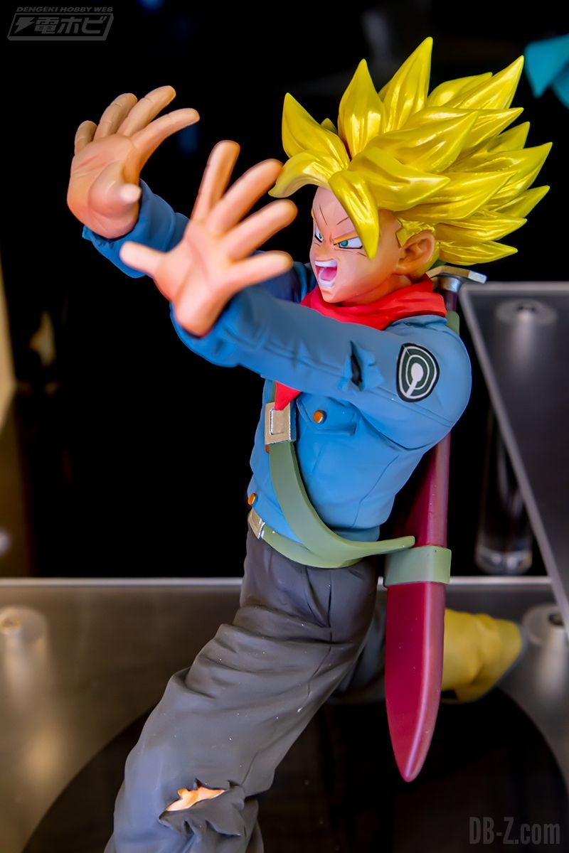 Figurine Dragon Ball Super Trunks Galick Ho Février 2020