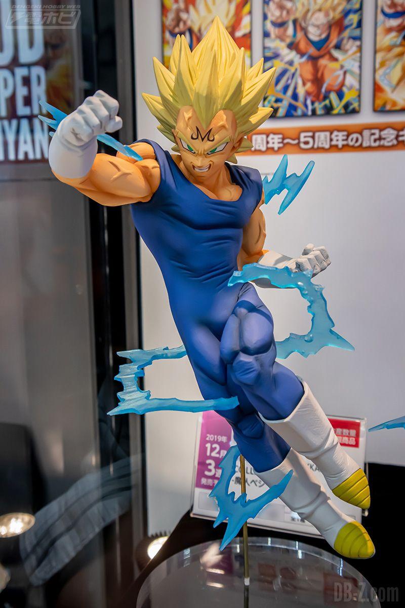 Figurine Dragon Ball Z Dokkan Battle Collab Majin Vegeta Décembre 2019