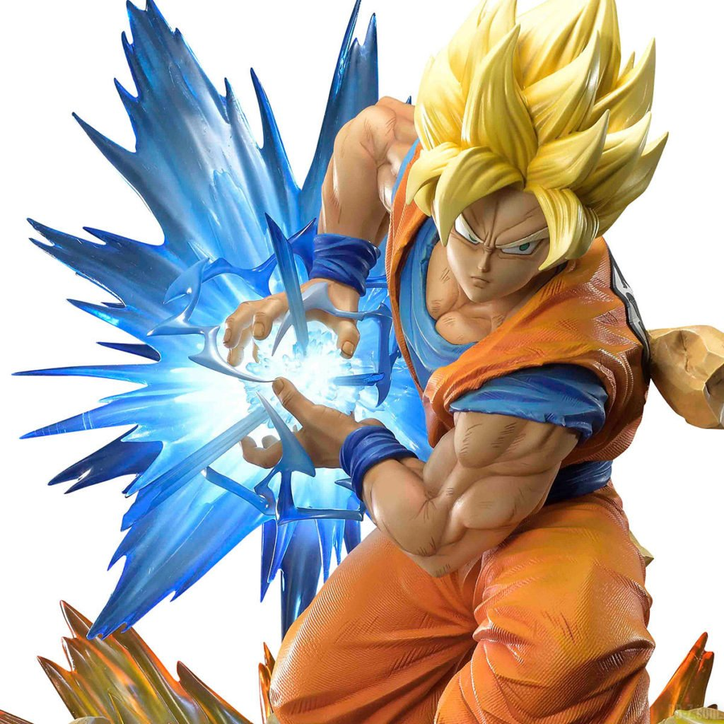 Mega Premium Masterline Dragon Ball Z Son Goku Super Saiyan 0001