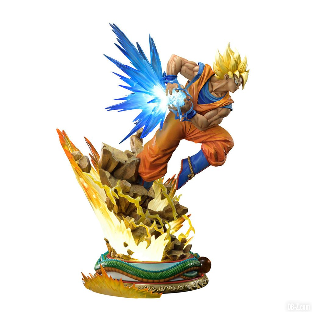 Mega Premium Masterline Dragon Ball Z Son Goku Super Saiyan 0003