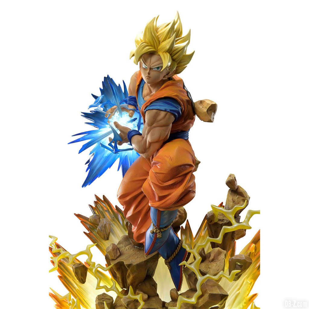 Mega Premium Masterline Dragon Ball Z Son Goku Super Saiyan 0004