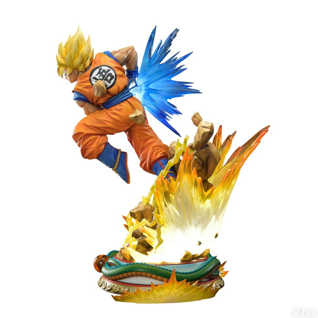 Mega Premium Masterline Dragon Ball Z Son Goku Super Saiyan 0005