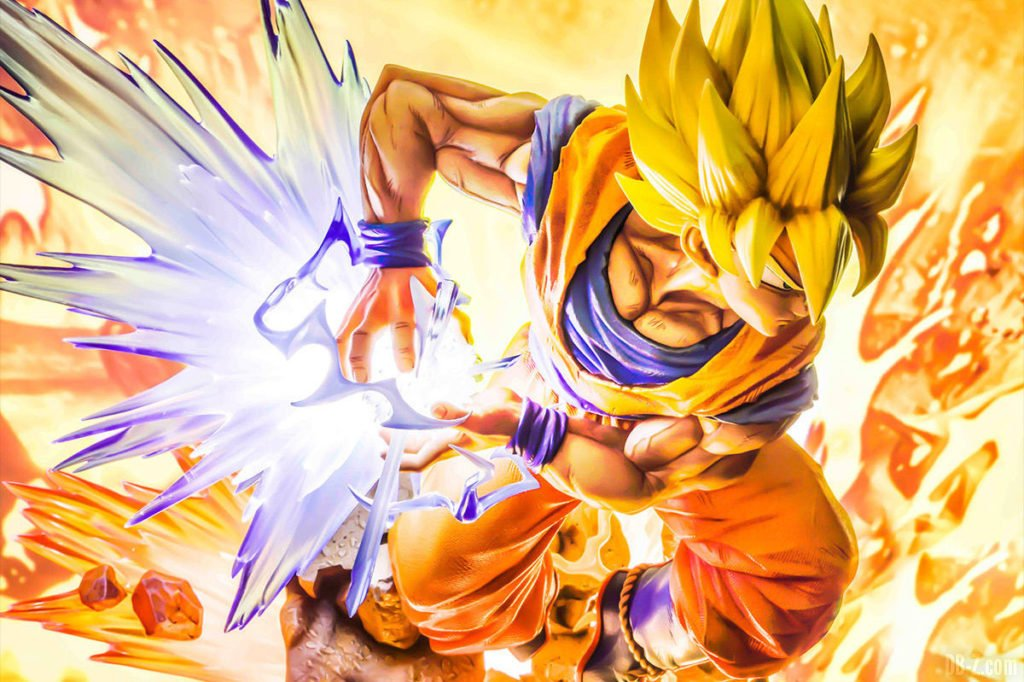 Mega Premium Masterline Dragon Ball Z Son Goku Super Saiyan