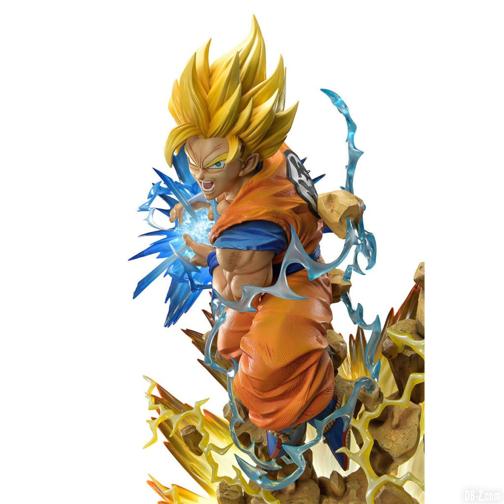 Mega Premium Masterline Dragon Ball Z Son Goku Super Saiyan 2 0001