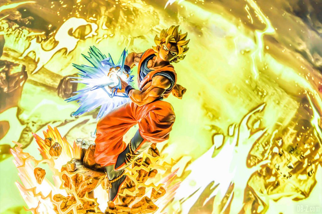 Mega Premium Masterline Dragon Ball Z Son Goku Super Saiyan 2