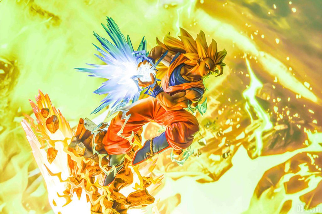 Mega Premium Masterline Dragon Ball Z Son Goku Super Saiyan 3