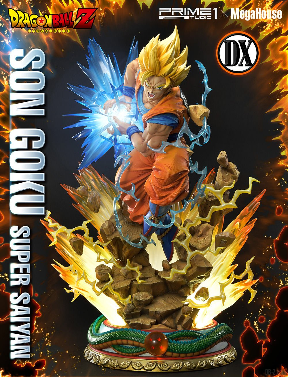 Mega Premium Masterline Dragon Ball Z Son Goku Super Saiyan DX