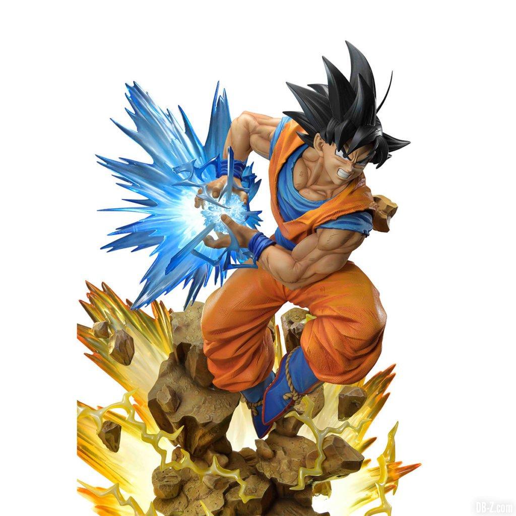 Mega Premium Masterline Dragon Ball Z Son Goku Super Saiyan Forme Normale 0001
