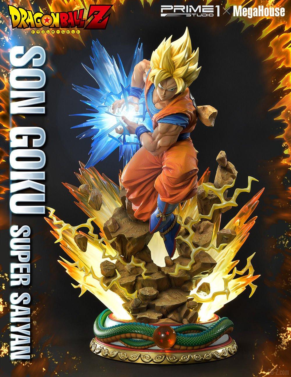 Mega Premium Masterline Dragon Ball Z Son Goku Super Saiyan NORMALE