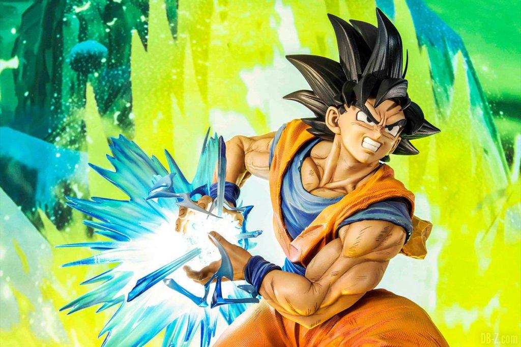 Mega Premium Masterline Dragon Ball Z Son Goku Super Saiyan forme normale