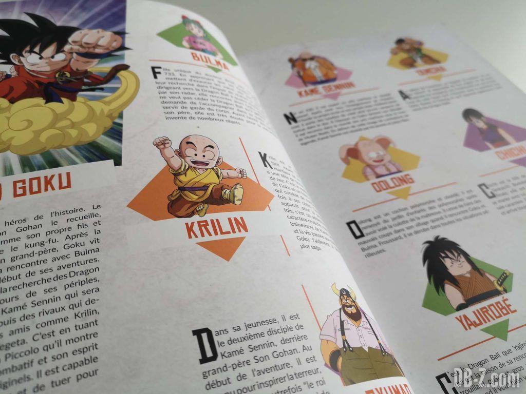 Apercu livre Les recettes légendaires de Dragon Ball Glénat 02