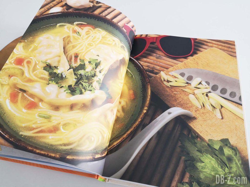 Apercu livre Les recettes légendaires de Dragon Ball Glénat 04