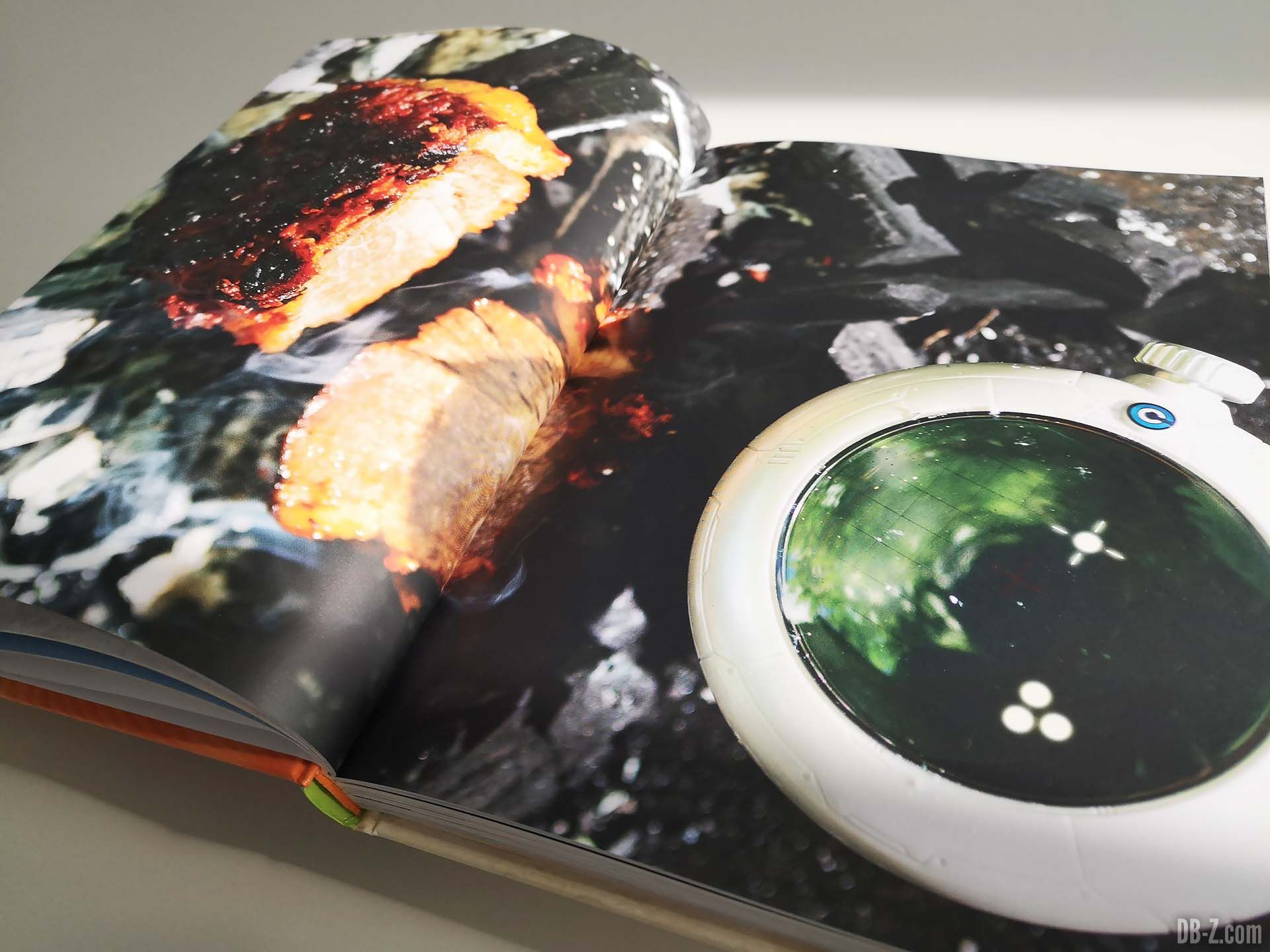 Apercu livre Les recettes légendaires de Dragon Ball Glénat 05