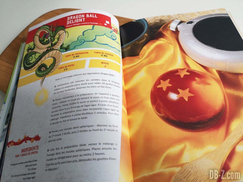 Apercu livre Les recettes légendaires de Dragon Ball Glénat 06