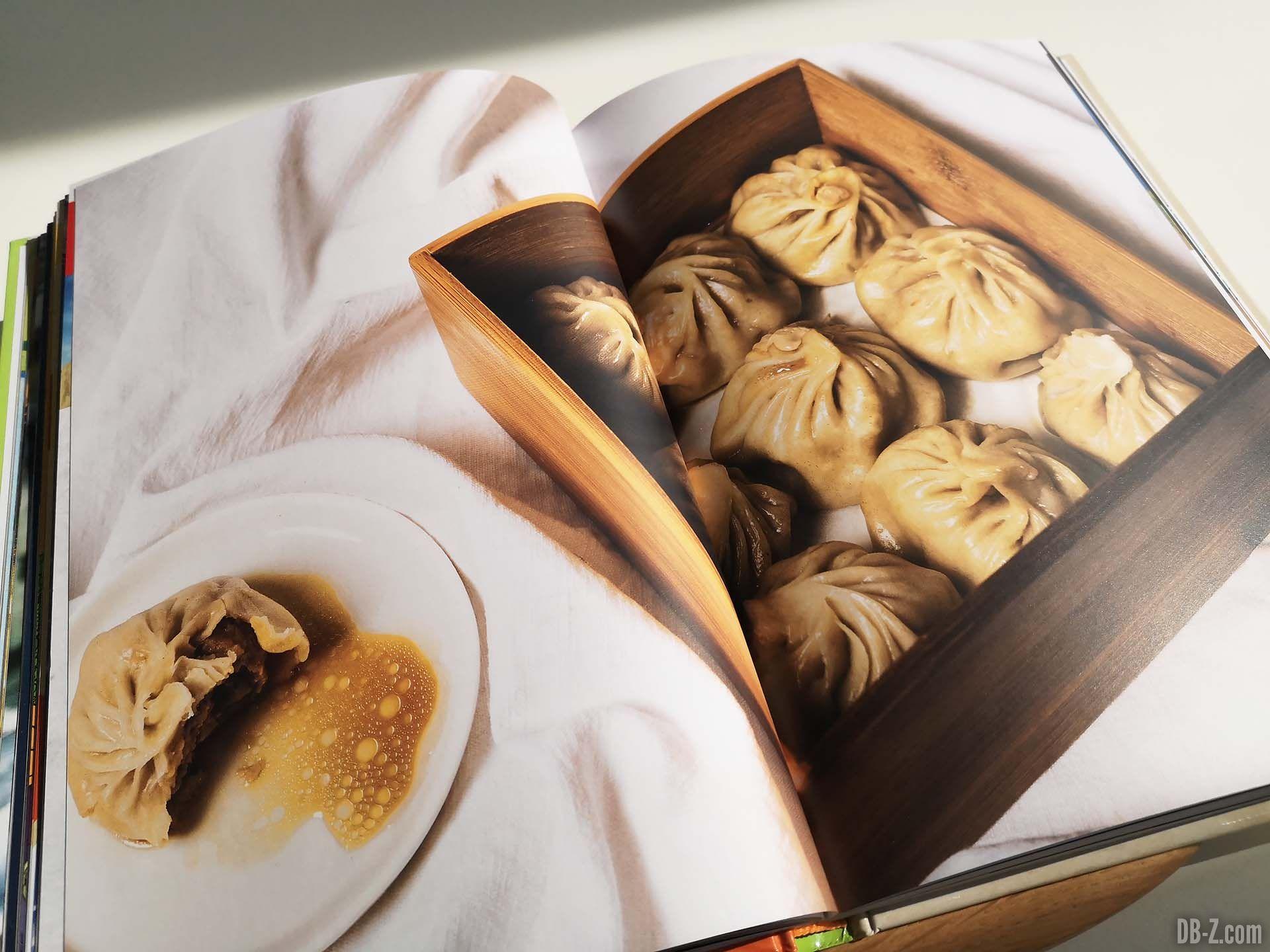 Apercu livre Les recettes légendaires de Dragon Ball Glénat 08