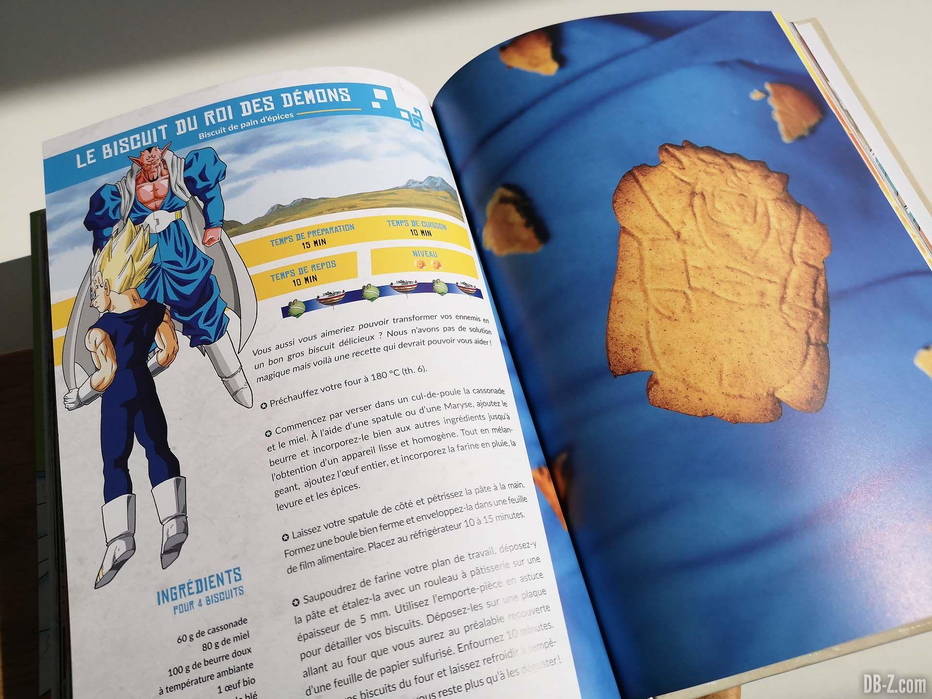 Apercu livre Les recettes légendaires de Dragon Ball Glénat 10