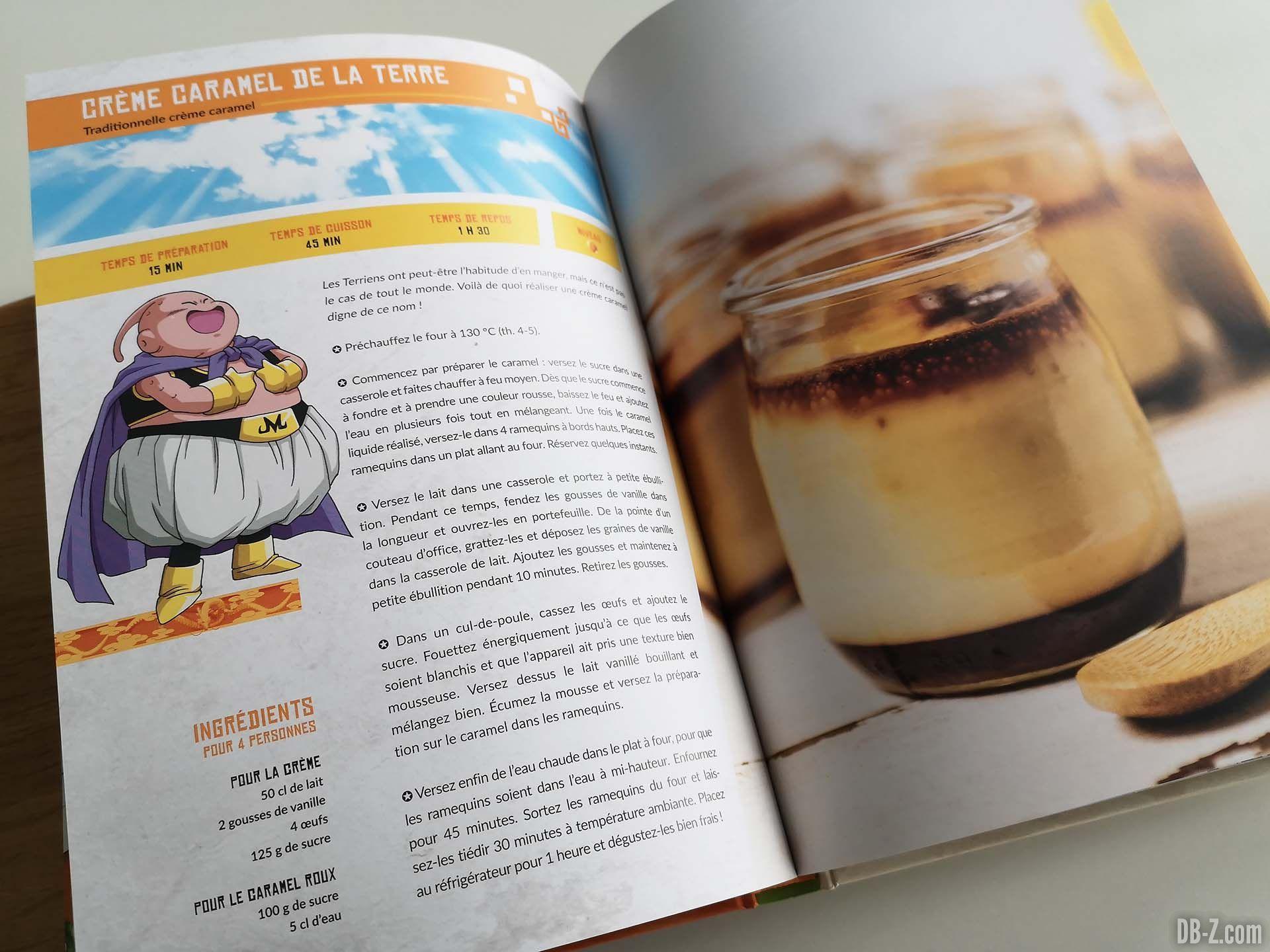 Apercu livre Les recettes légendaires de Dragon Ball Glénat 13