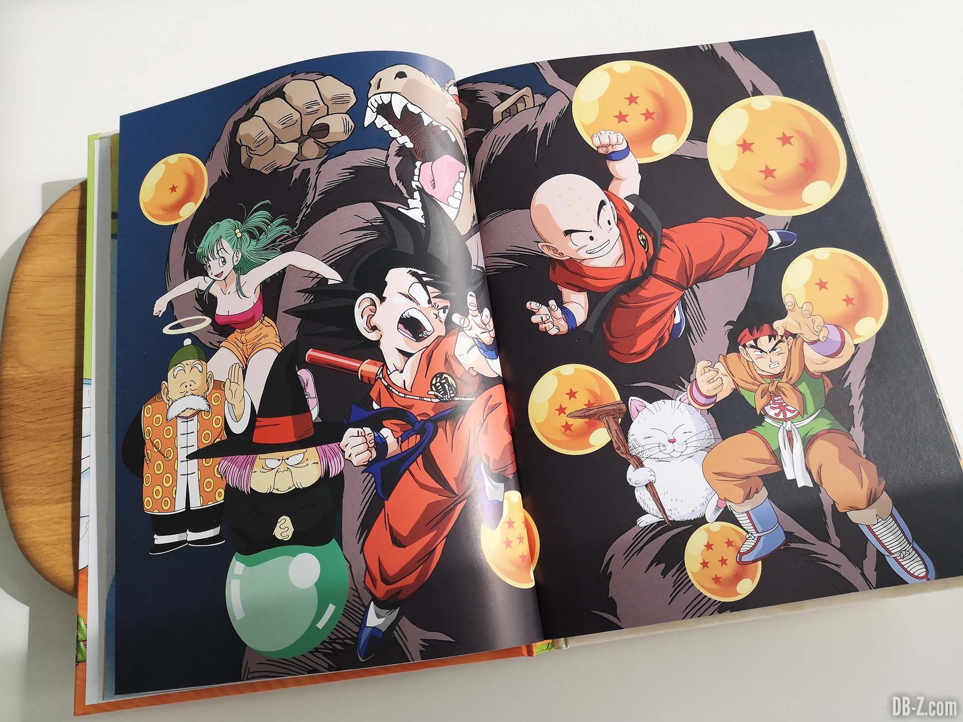 Artwork Les recettes légendaires de Dragon Ball Glénat 02