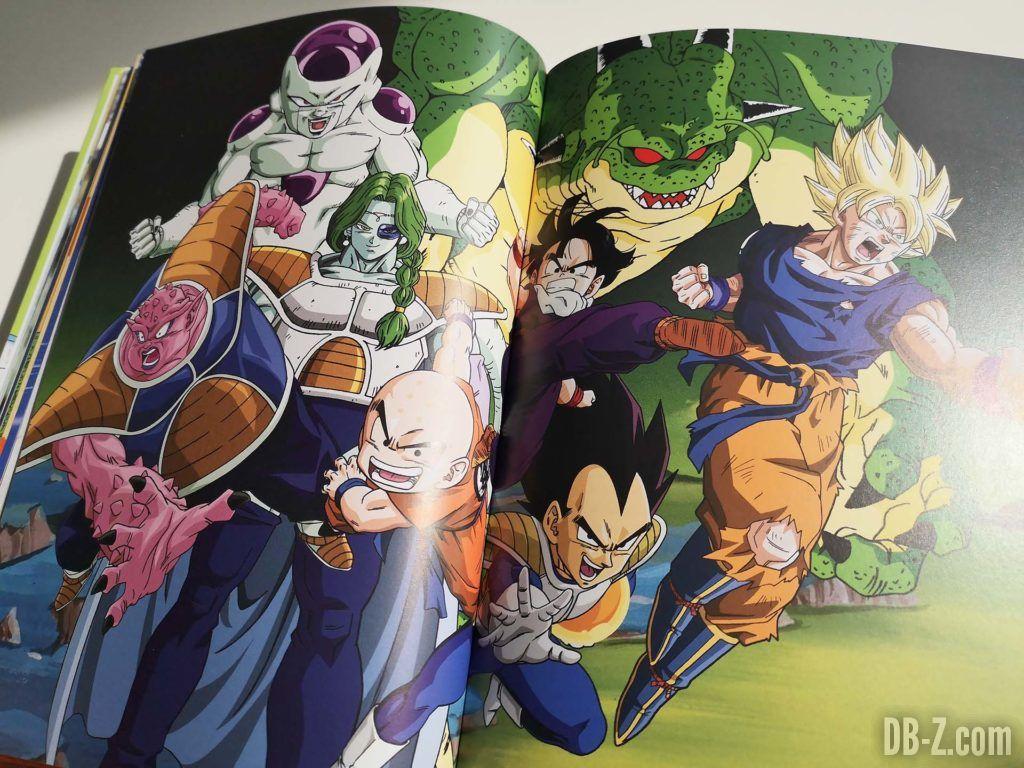 Artwork Les recettes légendaires de Dragon Ball Glénat 06
