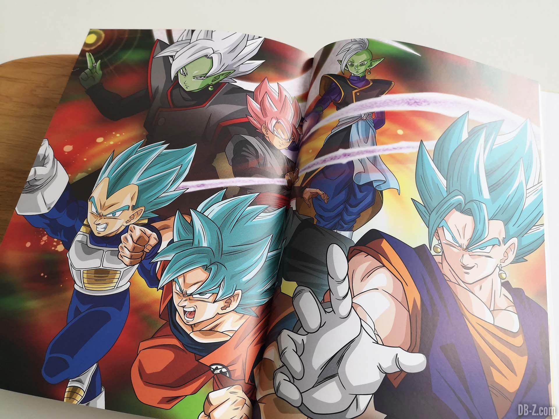 Artwork Les recettes légendaires de Dragon Ball Glénat 12