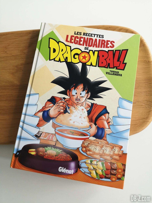 Cover Les recettes légendaires de Dragon Ball Glénat 03