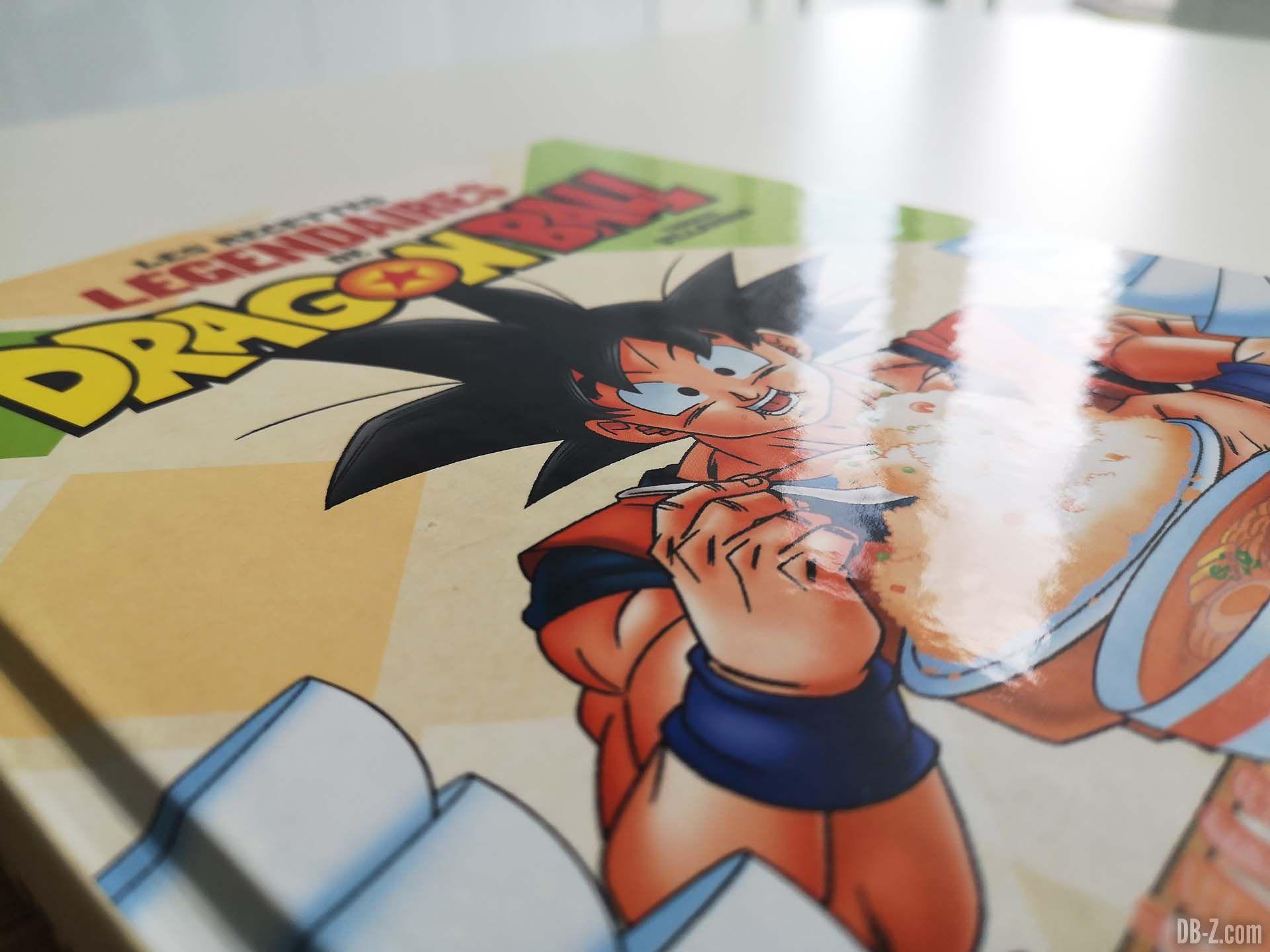 Cover Les recettes légendaires de Dragon Ball Glénat 07