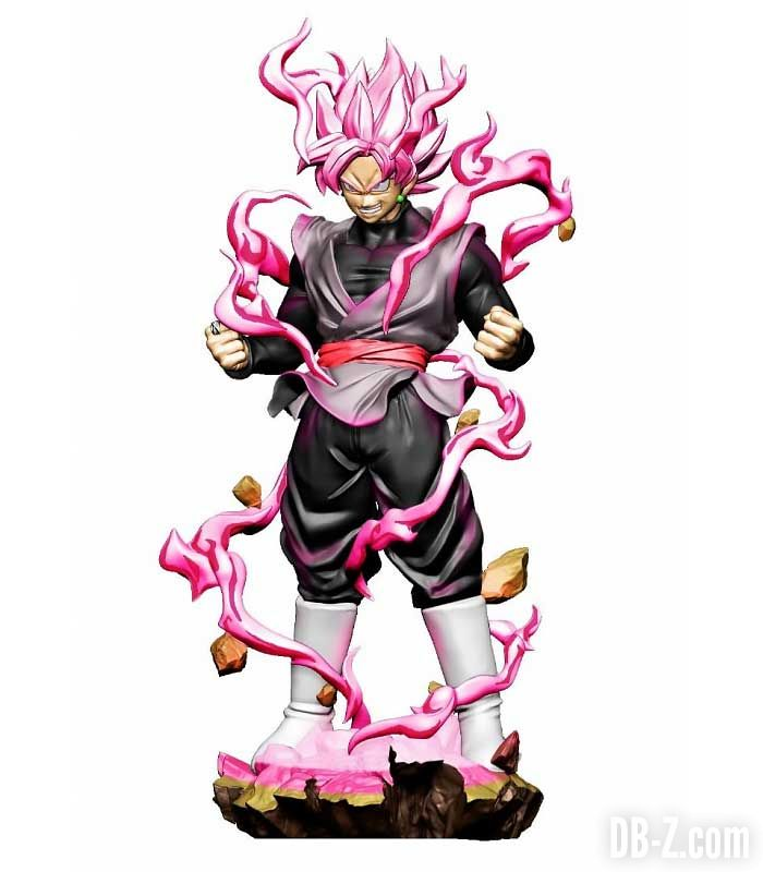 Dracap Re Birth Goku Black Super Saiyan Rosé