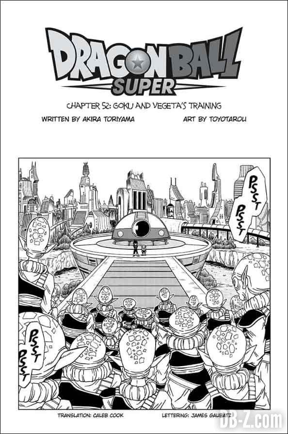 Dragon Ball Super Chapitre 52 anglais