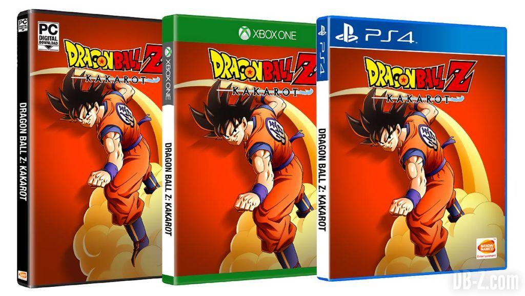 Dragon Ball Z Kakarot Toutes les Editions