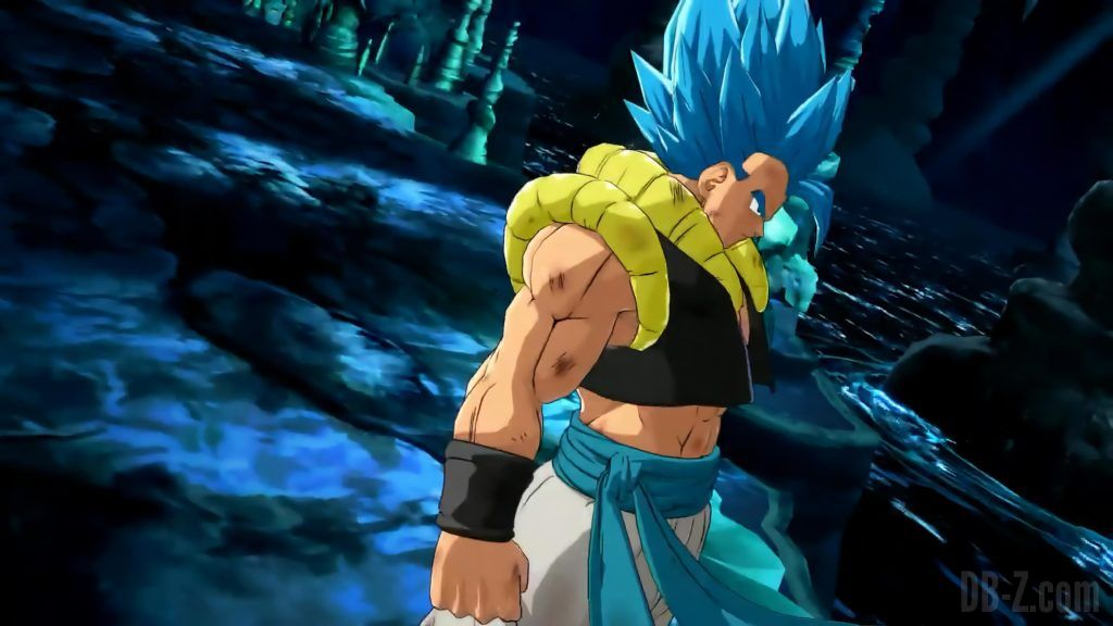 Gogeta Blue Dragon Ball FighterZ
