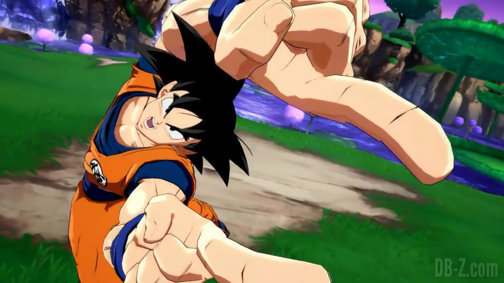 Goku Gogeta Dragon Ball FighterZ