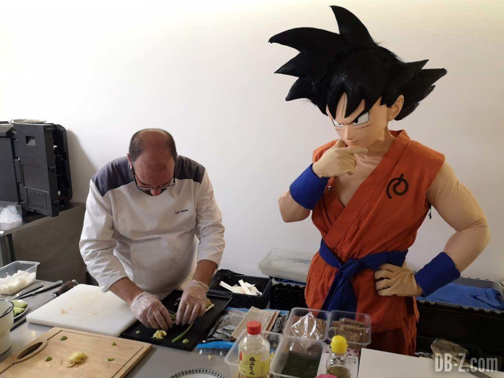 Goku cuisine chez Glénat 01