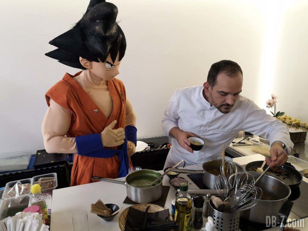 Goku cuisine chez Glénat 02