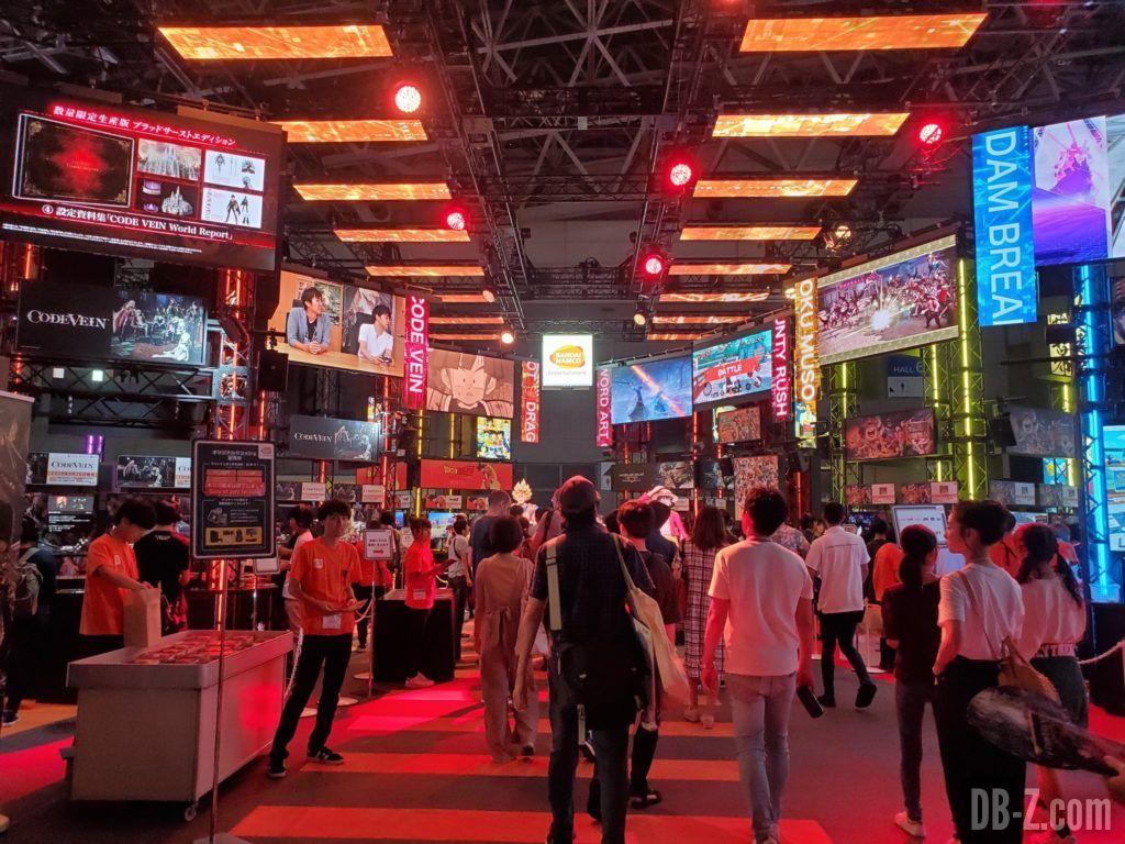 Tokyo Game Show 2019 Bandai Namco Booth