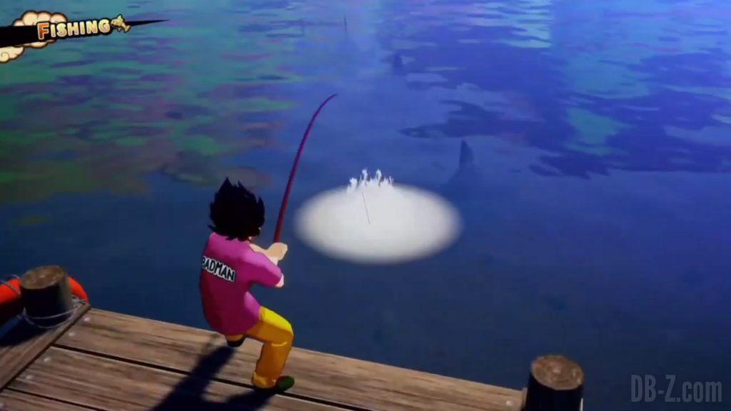Vegeta Badman Chemise rose Dragon Ball Z Kakarot Gameplay 08