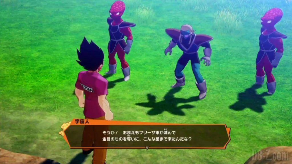 Vegeta Badman Chemise rose Dragon Ball Z Kakarot Gameplay 11