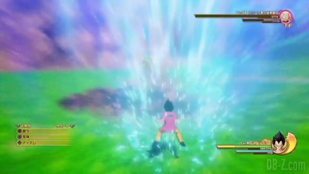 Vegeta Badman Chemise rose Dragon Ball Z Kakarot Gameplay 15