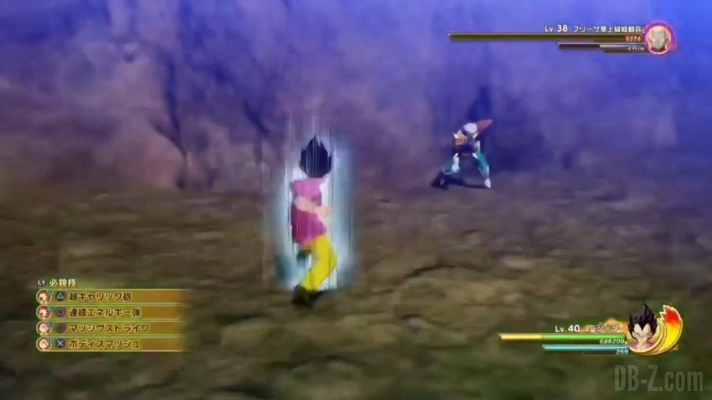 Vegeta Badman Chemise rose Dragon Ball Z Kakarot Gameplay 19