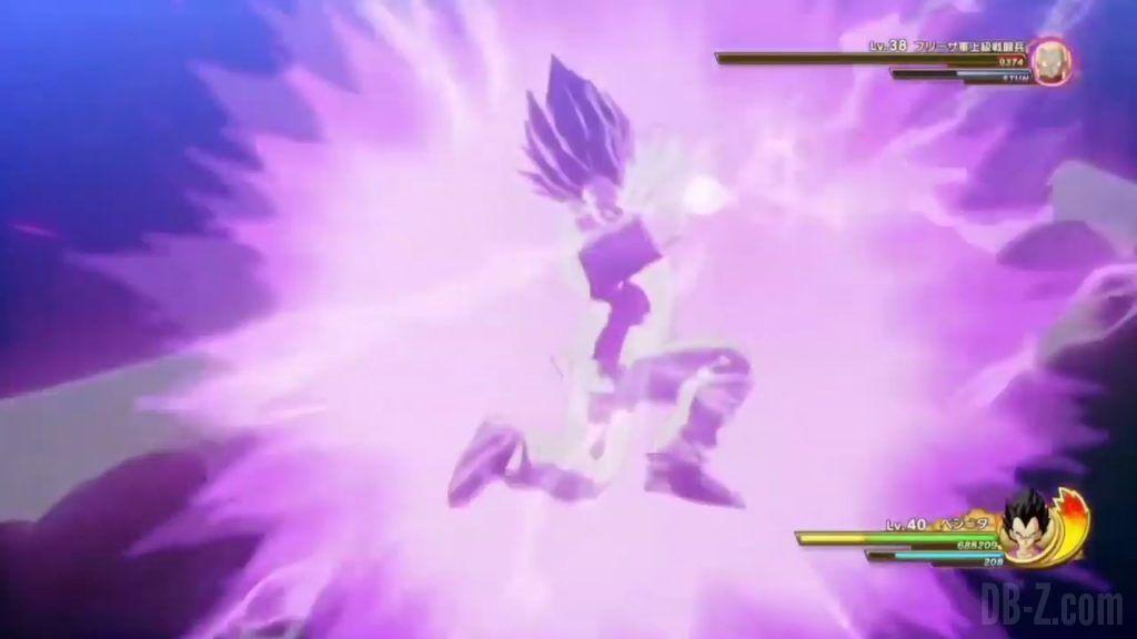 Vegeta Badman Chemise rose Dragon Ball Z Kakarot Gameplay 22