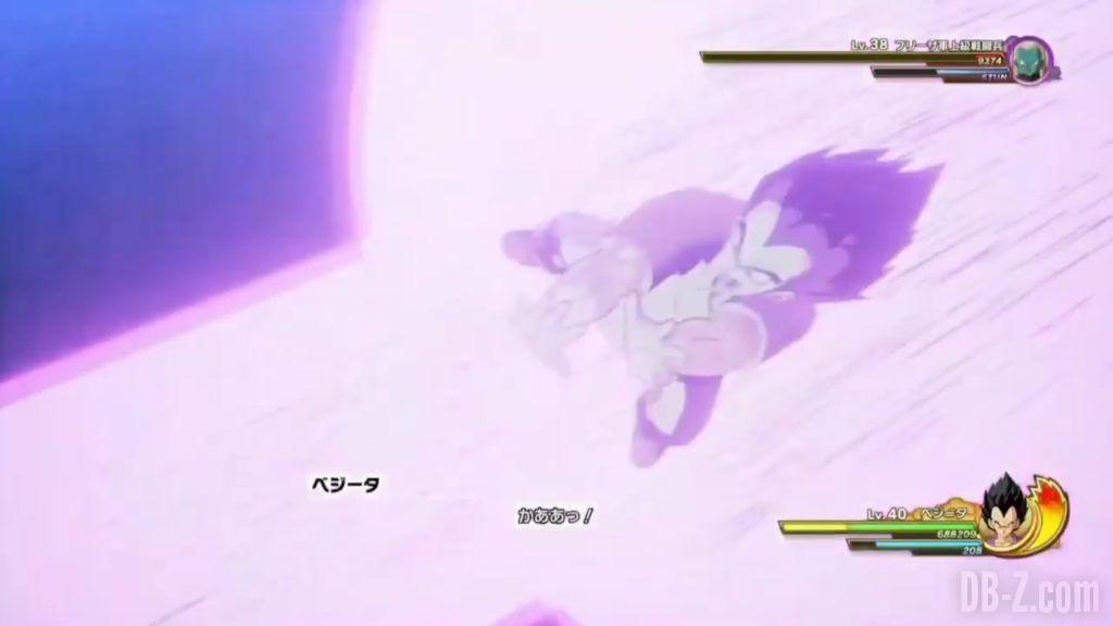 Vegeta Badman Chemise rose Dragon Ball Z Kakarot Gameplay 23