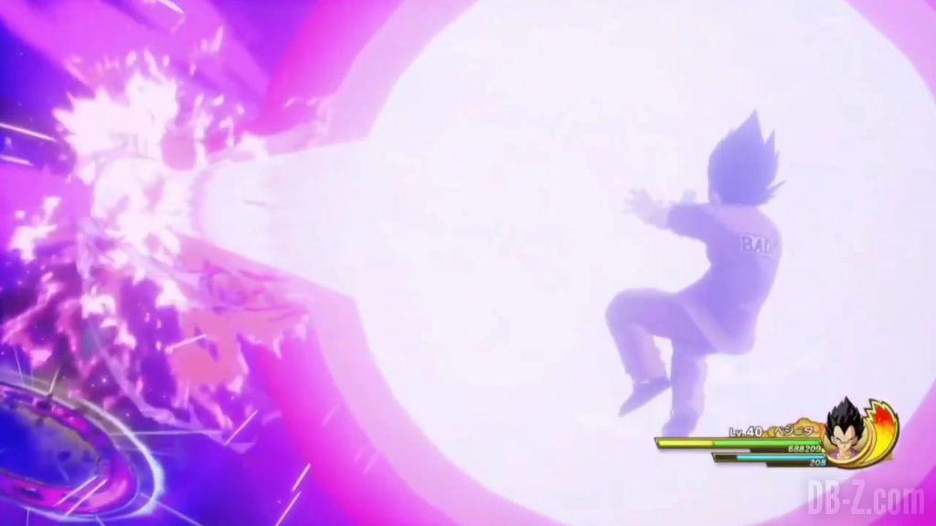 Vegeta Badman Chemise rose Dragon Ball Z Kakarot Gameplay 24