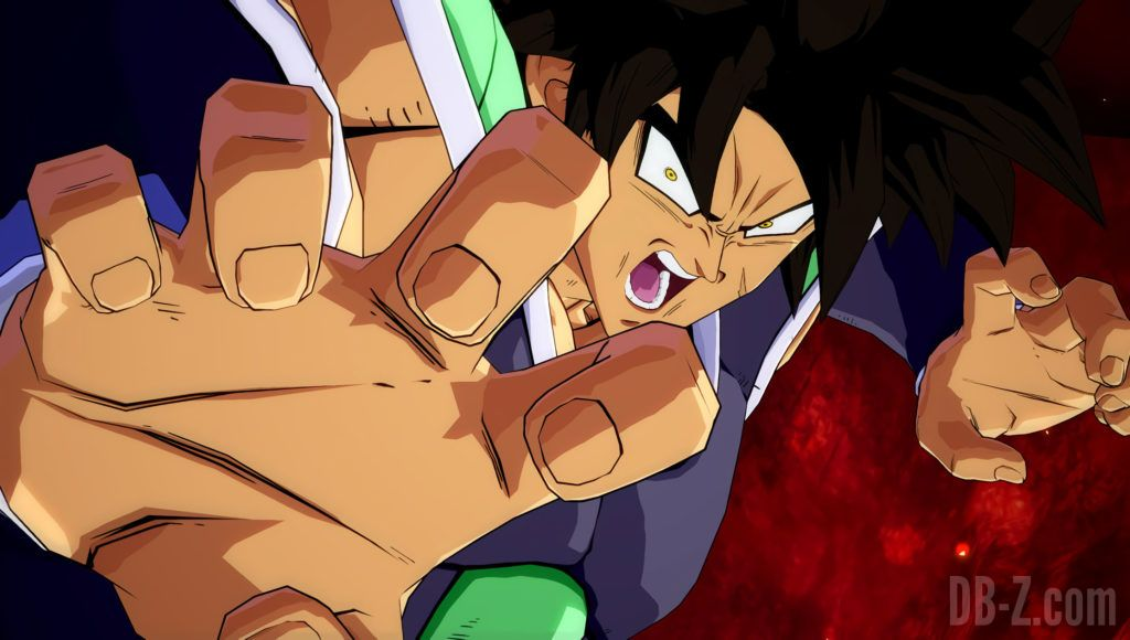 Broly DBS Dragon ball FighterZ