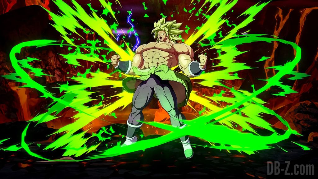 Broly DBS Dragon ball FighterZ 2