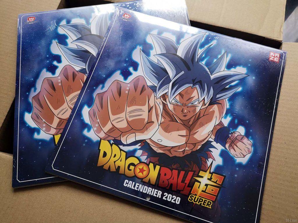 Calendrier Dragon Ball Super 2020