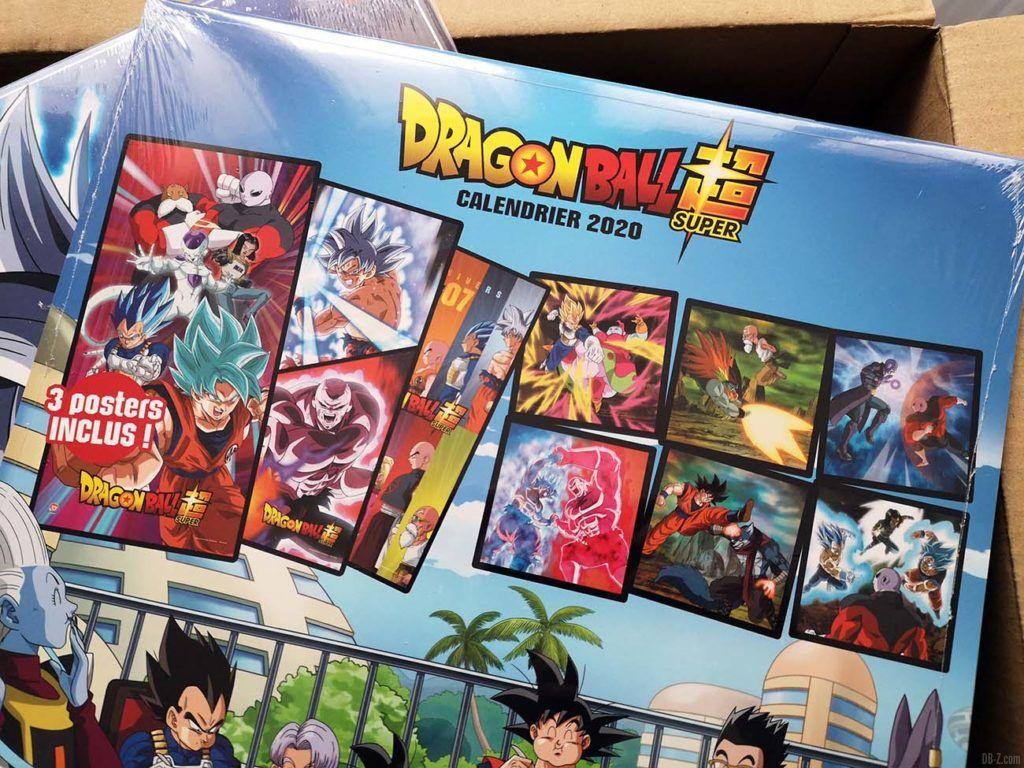 Calendrier Dragon Ball Super 2020 Back