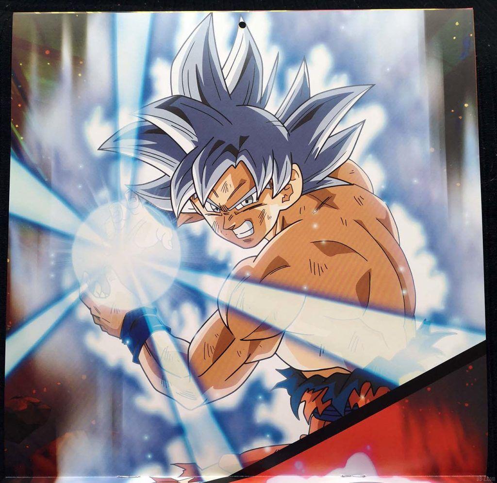 Calendrier Dragon Ball Super 2020 Poster 1.1