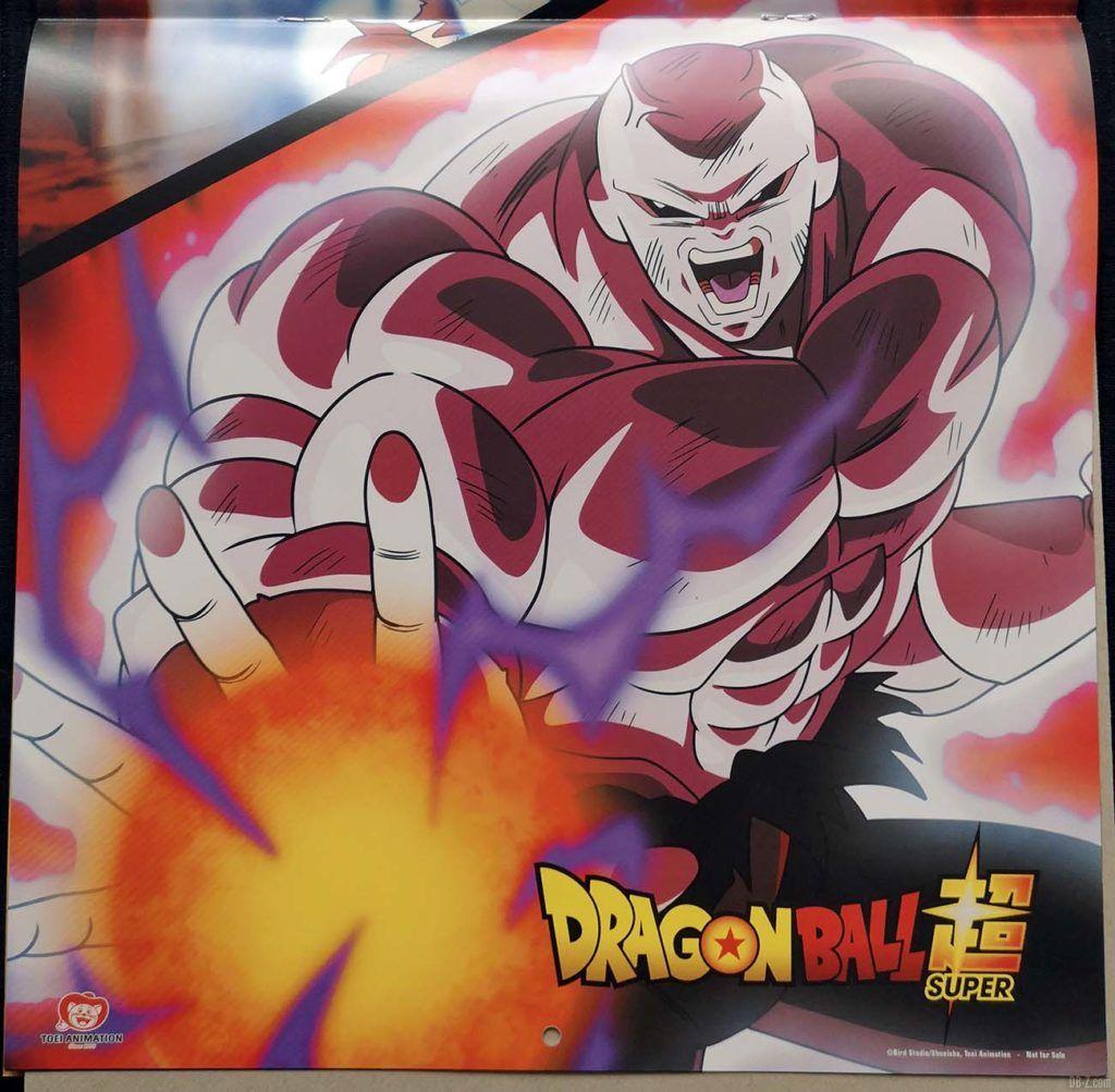 Calendrier Dragon Ball Super 2020 Poster 1.2