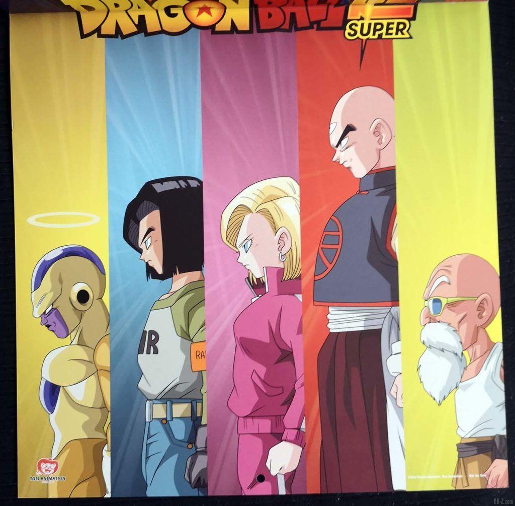 Calendrier Dragon Ball Super 2020 Poster 2.2