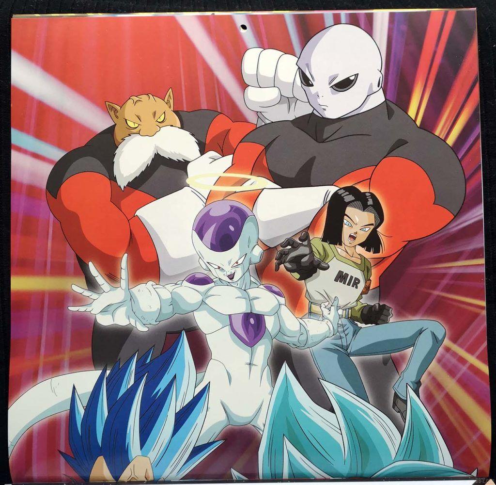 Calendrier Dragon Ball Super 2020 Poster 3.1